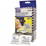 North 7003 Respirator Wipes w/ Alcohol, (box of 100)