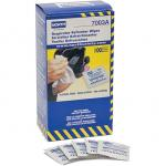 North 7003A Respirator Wipes Alcohol-free, (box of 100)