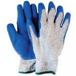 Rubber Coated Knit Gloves, L, pair