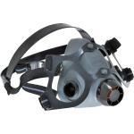 North 550030M Series Half Face Respirator, medium