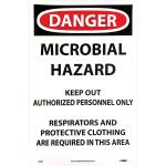 Microbial Hazard Sign 11 x 17
