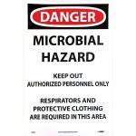 Microbial Hazard Sign 11 x 17