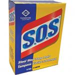 SOS Steel Wool Soap Pads, box of 18