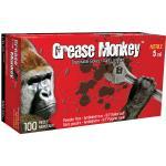 5554PF Grease Monkey 5 mil black nitrile gloves (box of 100) - Medium