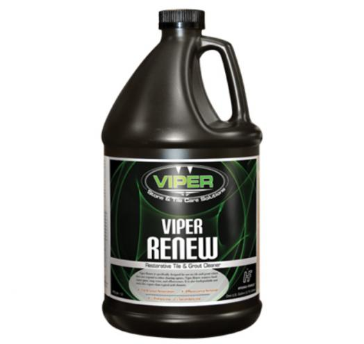 Viper Renew-Restorative Tile & Grout Cleaner, gal