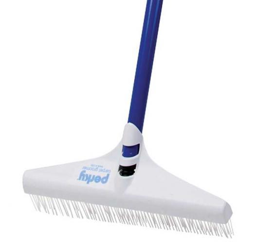 """Perky Groom 12"""" Carpet Grooming Rake with handle"""