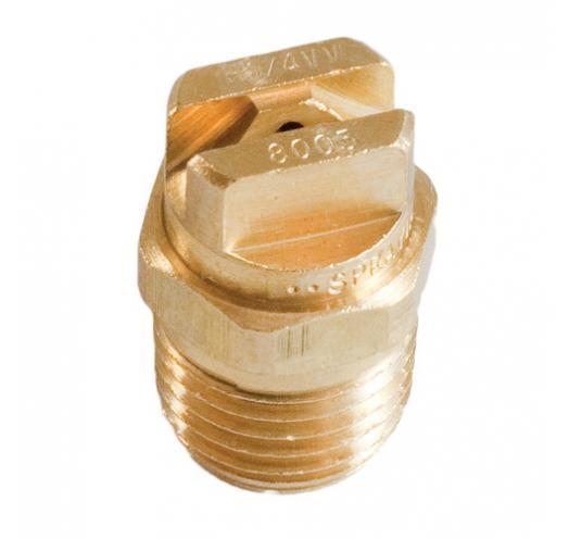 VEEJET H1/4VV 8005 Brass 1/4 inch Spray Nozzle