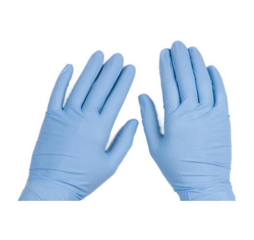 Nitrile Gloves, 5 mil Powder-free, small