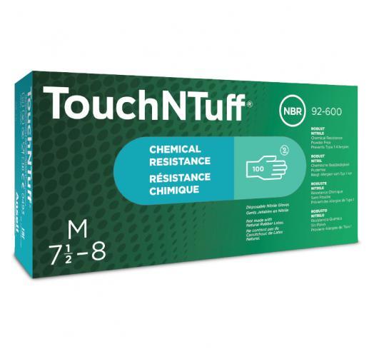 ansell touchntuff nitrile glove box