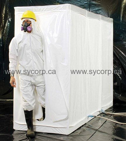 Grayling 3 Room Decon Shower 1001005