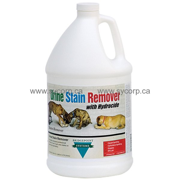 Dog Urine Carpet Stain Removal: Urine Stain Remover With Hydrocide, Gal