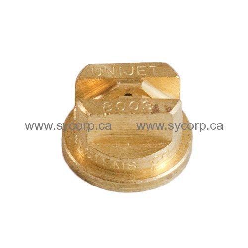 Unijet Teejet 8003 Brass Amp Spray Nozzle