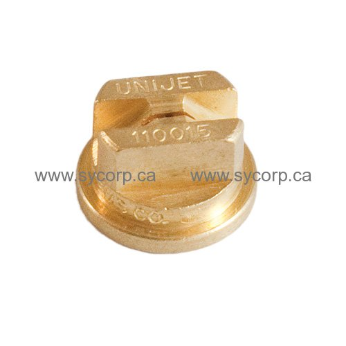Unijet teejet brass spray nozzle