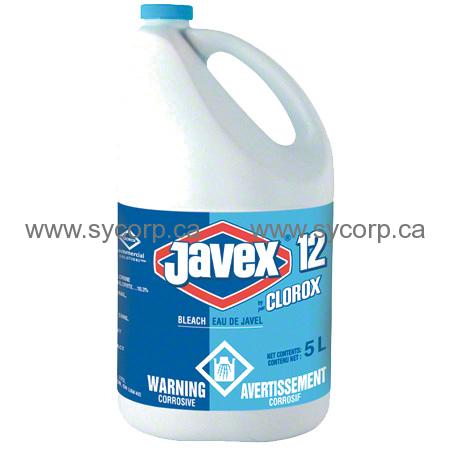 Clorox Javex Bleach 12 5 Litre Case Of 3